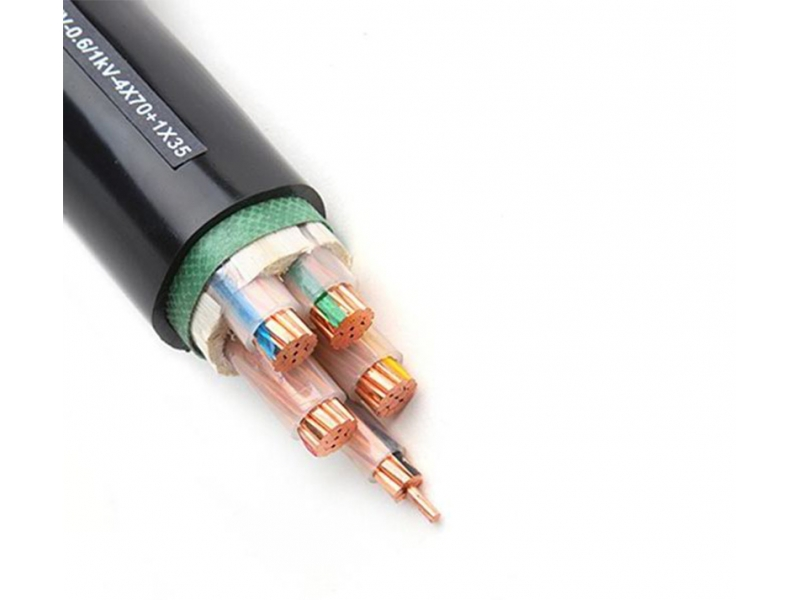 Five-Core PVC Insulated Power Cable