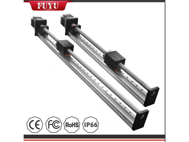 Linear Guide Slide Table Ball Screw Motion Rail CNC Linear Guide Stage Actuator Motorized Nema 23 St