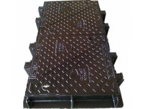 JRC12 Ductile iron manhole cover Etisalat and Du