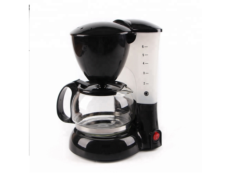 2019 Hot selling 0.6 l anti-drip&anti-dry function electric drip coffee maker machine