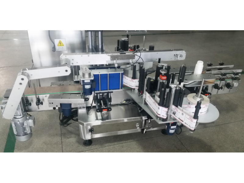 Dual-function labeling machine