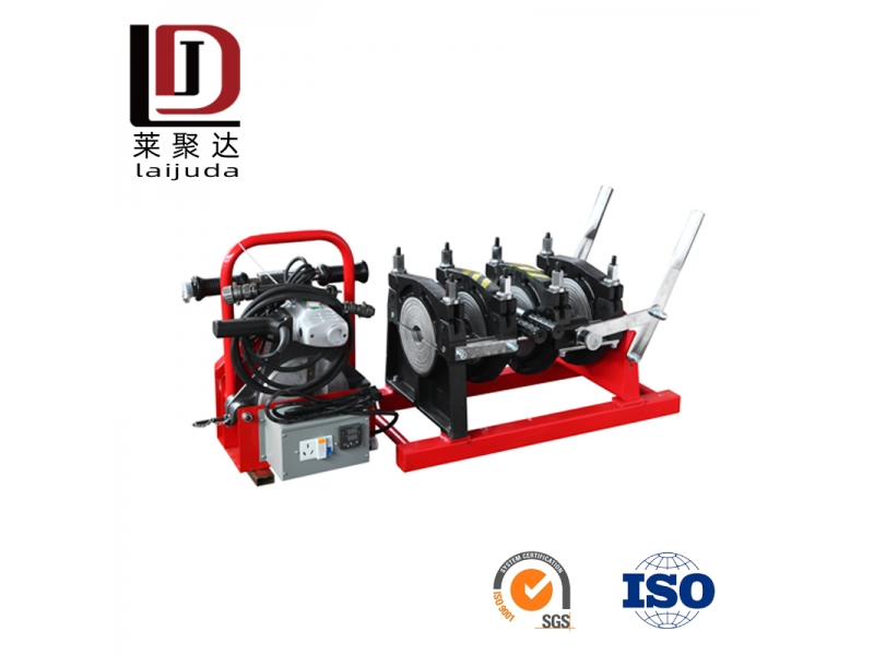 160mm hdpe pipe manual butt fusion welding machine