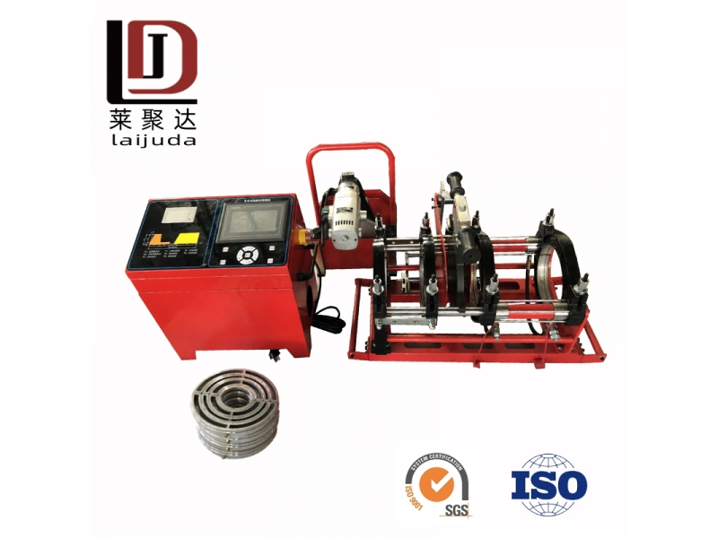 160mm automatic welding machine plastic hdpe