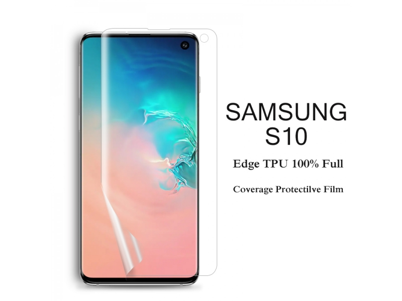 Clear TPU FILM SCREEN PROTECTOR FOR SAMSUNG S10 S10Plus S10e