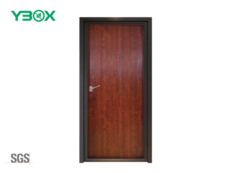 soundproof front door steel and wood door