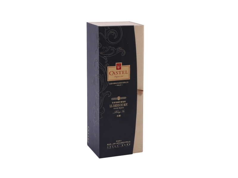 High Quality One Piece Wine Bottle Packaging Gift Boxes for Sale