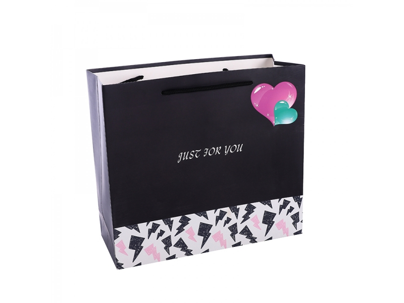 BSCI certificate Small MOQ matt lamination square gift paper bag in stock