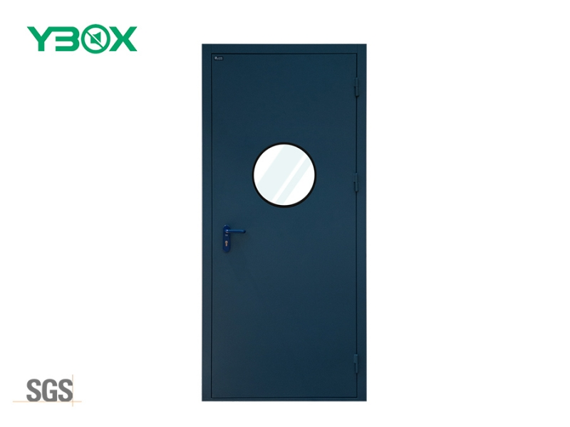 lab door sound dampening insulation steel door