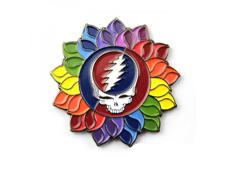 Grateful Dead Soft Enamel Lapel Pin