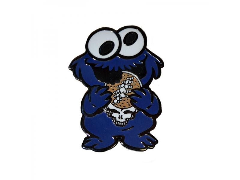 Cookie Monster Hippie Weed Festival Custom Lapel Pins