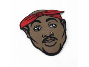 Tupac Design Iron on Patches