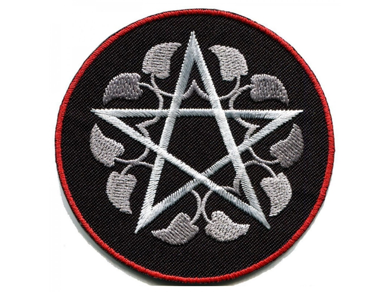 Pentagram pentacle witchcraft custom iron on patches