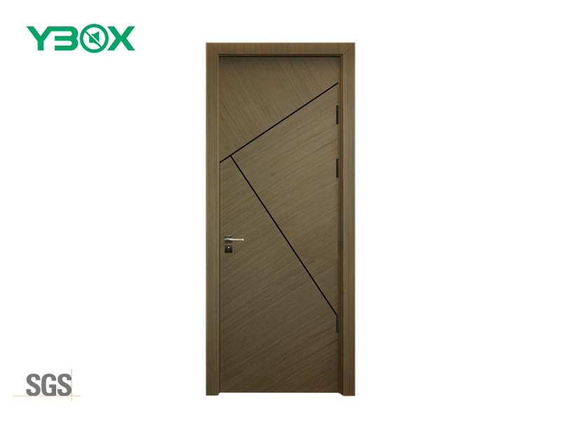 china single veneer interior door with sound dampening material