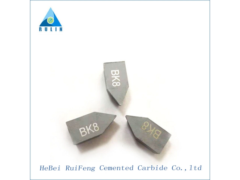 C116/C120/C125 YG6 tips for brazing tools tungsten carbide chip