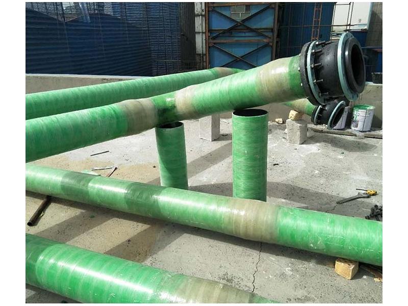 FRP Desulphurization Pipe