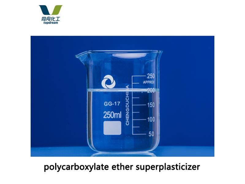 High Strength Polycarboxylate Superplasticizer for Slump Retention