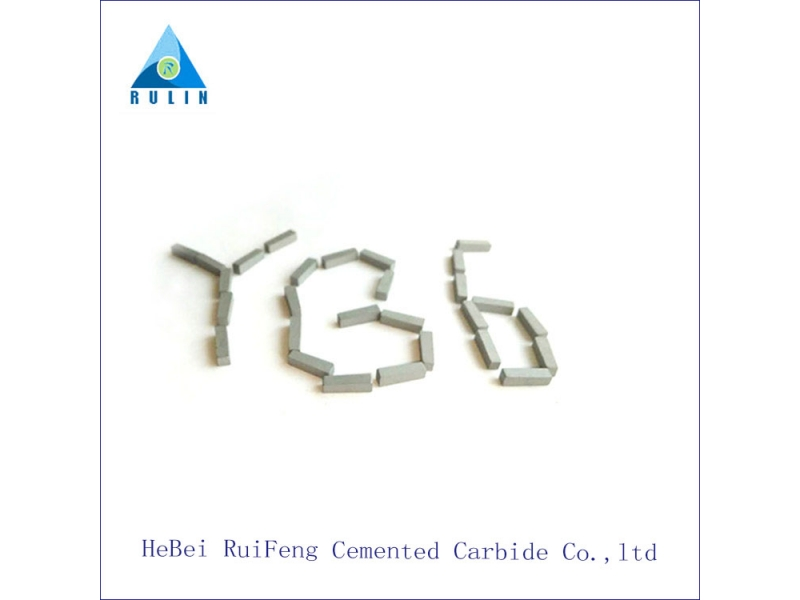 high quality yg6 c3 tungsten carbide brazed tips,brazing tips