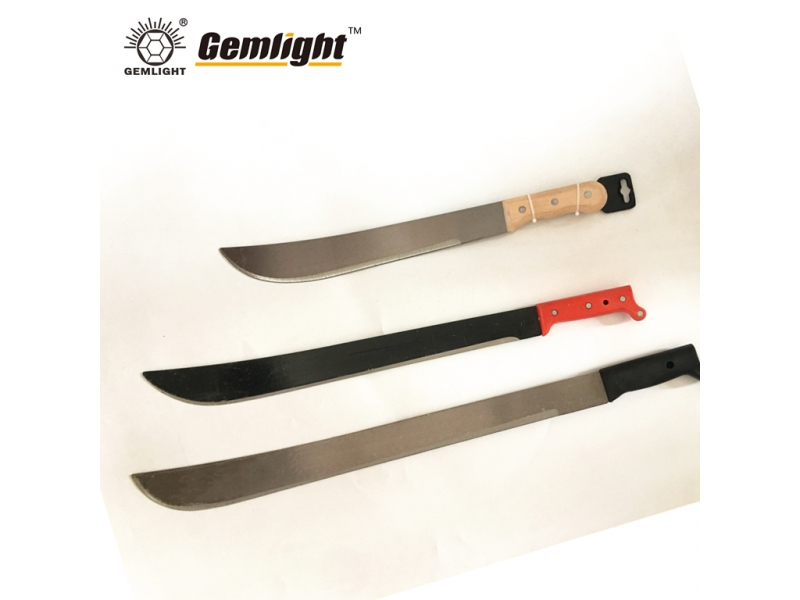 Machete knife with plastic/wood handle M205