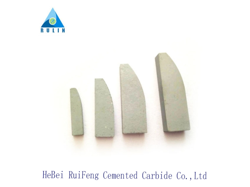 K10 Cemented Carbide GB Standard E3 Brazed Tips for Milling Tools