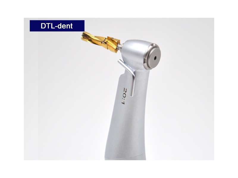 Implant Low Speed Dental Handpiece Optic Fiber 20:1 Contra Angle