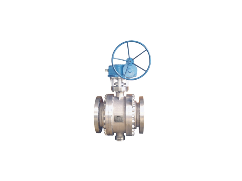Trunnion Titanium ball valve