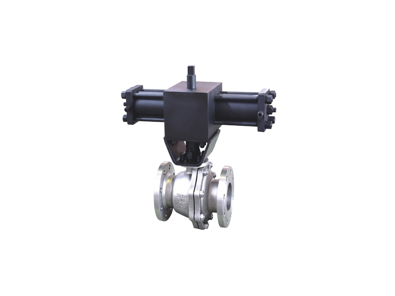 Metal seated Titanium ball valve
