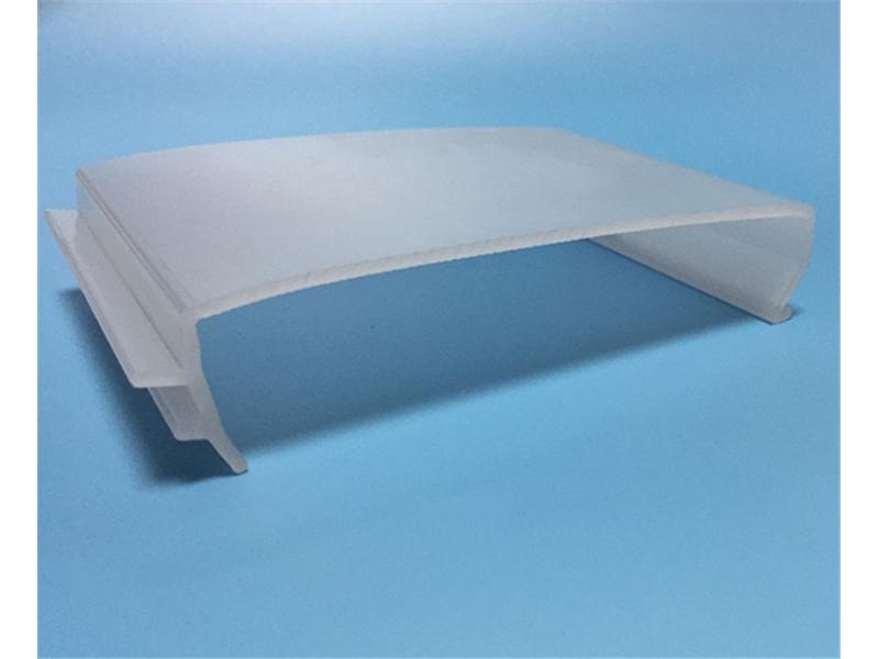 LED Lamp Shade,Custom Plastic Extrusion Led Cover,Plastic Extrusion LED Lamp Shade