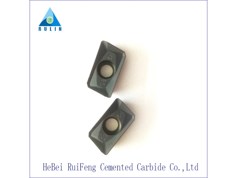 Tungsten carbide tips for drag bit used in water well drilling