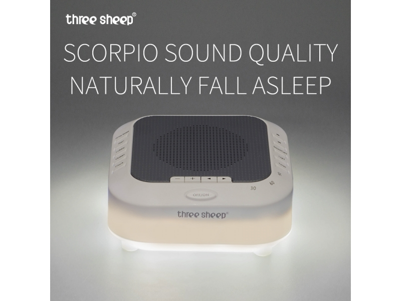 Hot selling sleep sound machine with LED Night Light S3