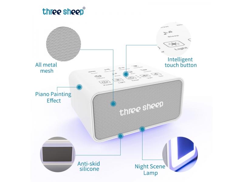 Portable Sleep Therapy White Noise Sound Machine S10