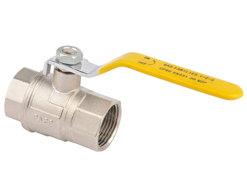 Brass Ball Valve with lever handle