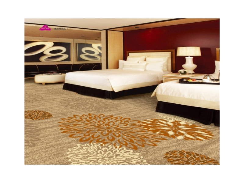 Double Face Wilton Carpet for hotel guestrooms, suits, apartments and residential rugs