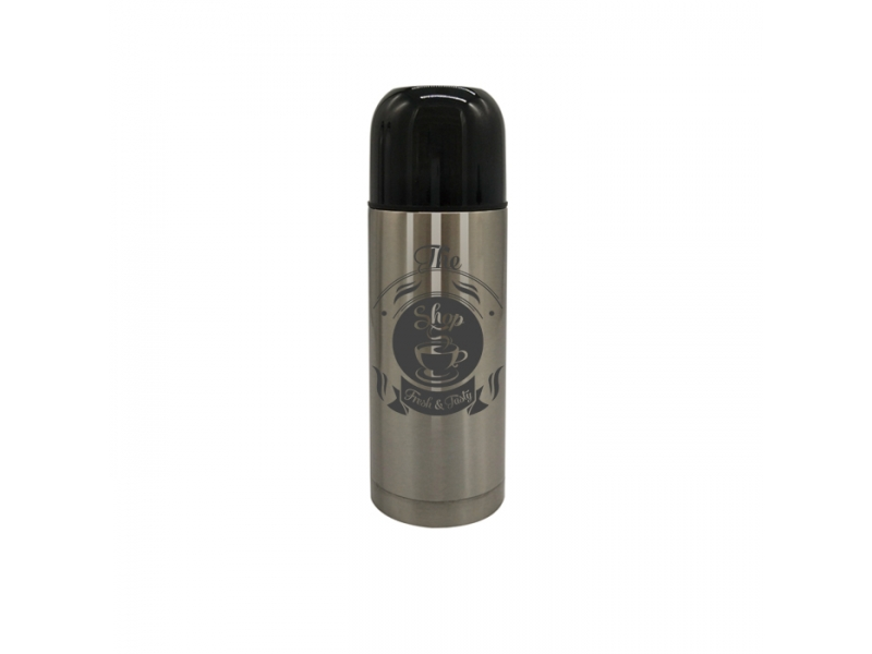 Male and female children portable bullet stainless steel vacuum cup customized gift printed logo -0.