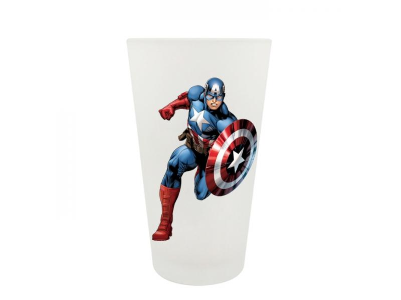 Big funnel glass mug( transparent / frosted ) - 0.45 L