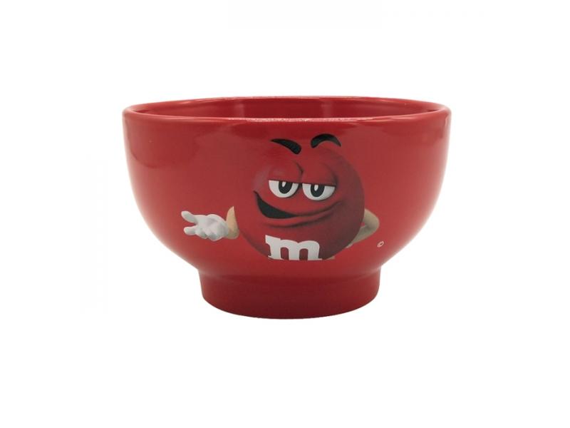 Cute Chocolate Bean Creative Expression Pack Ceramic Bowl -700ml