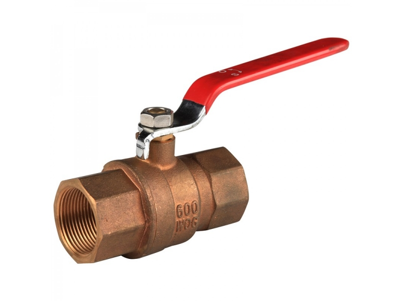 bronze  Ball Valve with lever handle