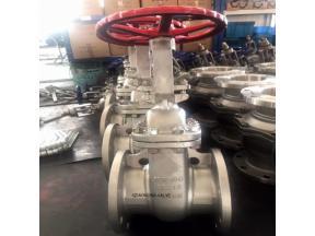 JIS10K/20K SS Flanged gate valve
