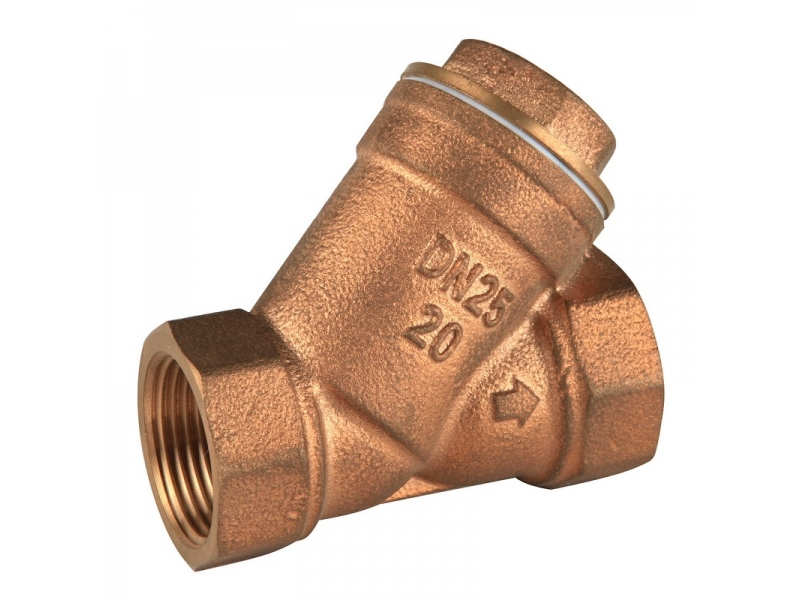 Bronze Y Strainer with Stainless Mesh