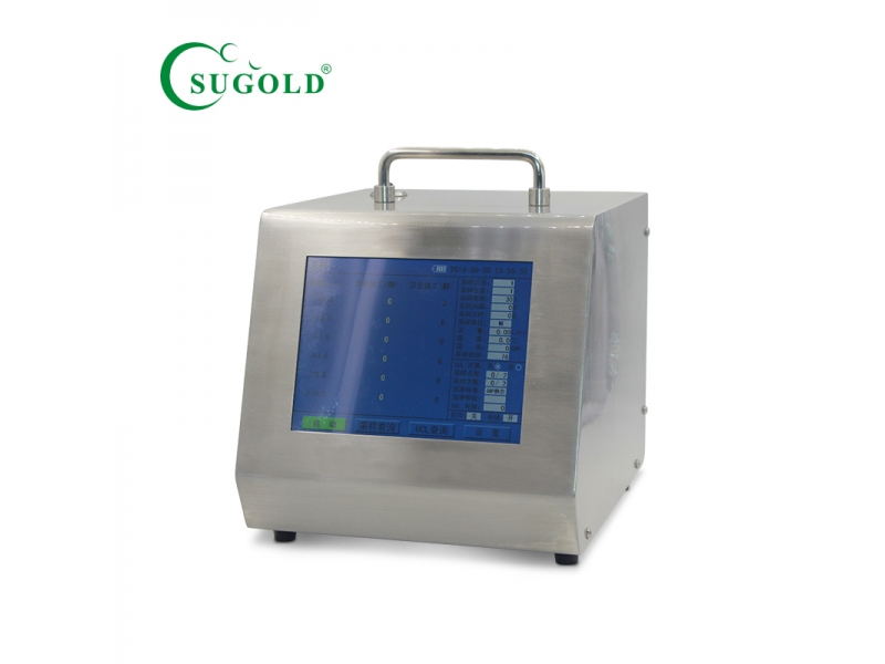 Table model 28.3L Dust particle counter with battery/without battery