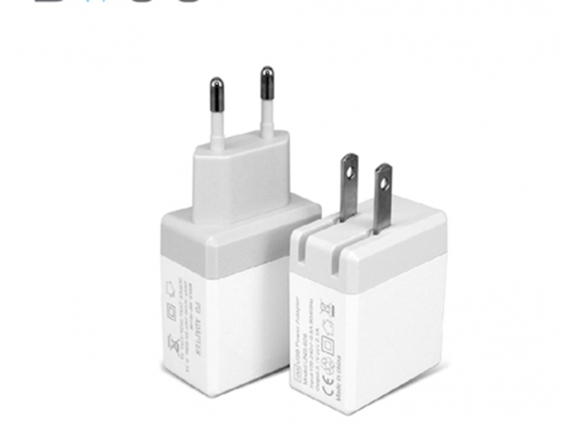 18W PD wall travel charger USB C output phone charger CE,ROSH,FCC certified quick charging