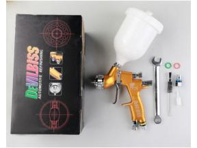 Devilbiss Gti pro lite golden painting tools 1.3mm nozzle spray tools