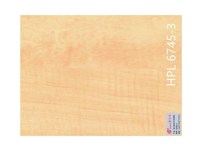 23mm Particle Board HPL Commucial Plywood of Flooring and Home Decoration Wood