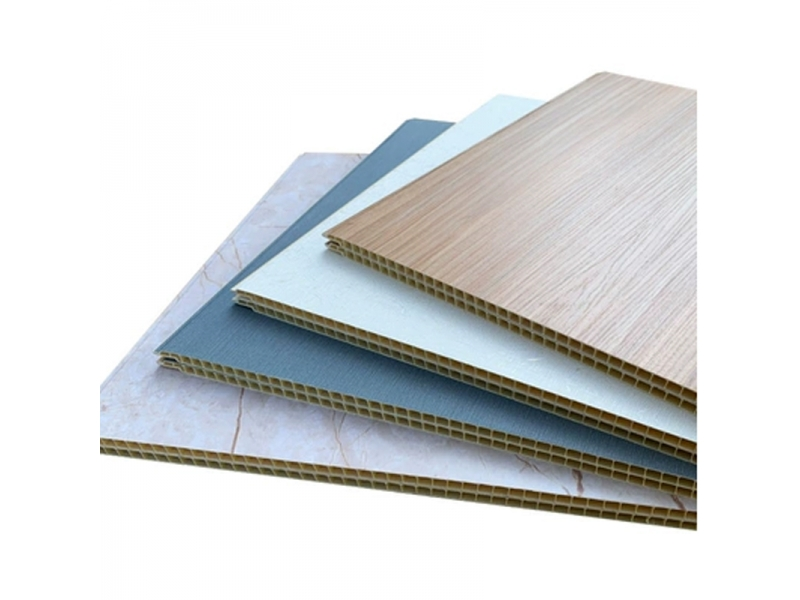 Best cheap New Interior Decor Waterproof wpc interior pressed board siding