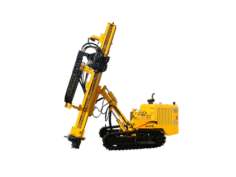 JK410 Crawler Mounted Pneumatic Tophammer Drill Rig