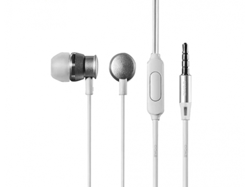 Deep Bass Stereo In-ear Hi-fi Wired Earphone with Microphone