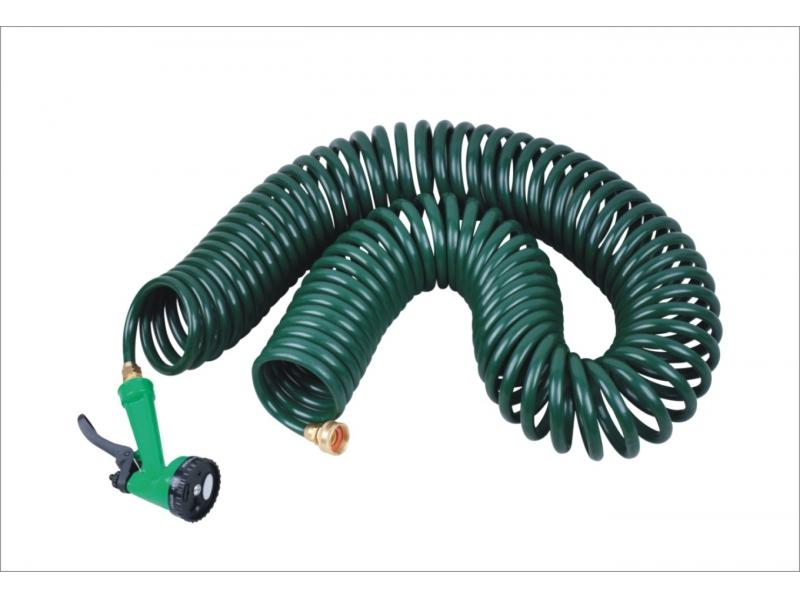 self-coil hose