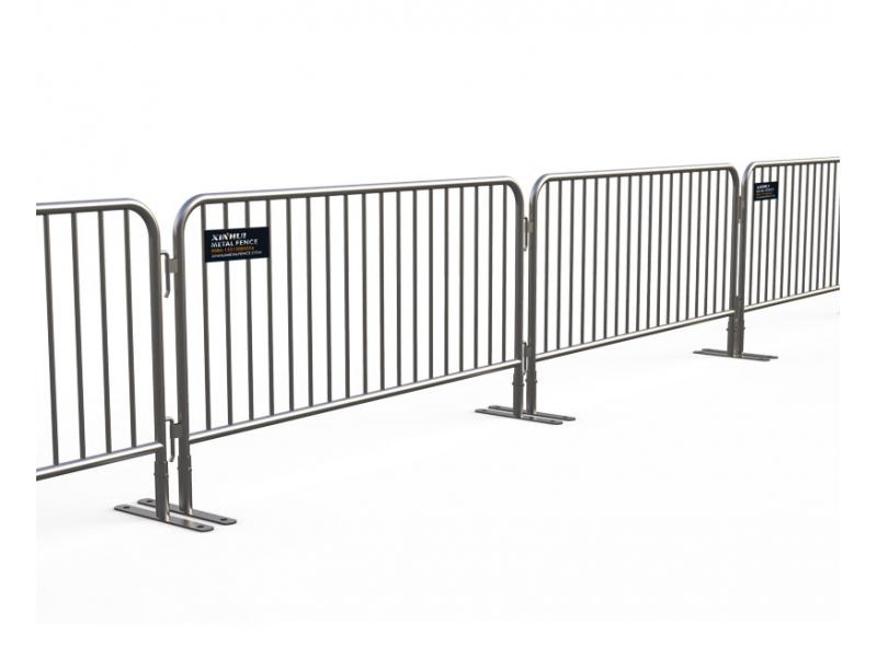 Flat Feet Crowd Control Barriers