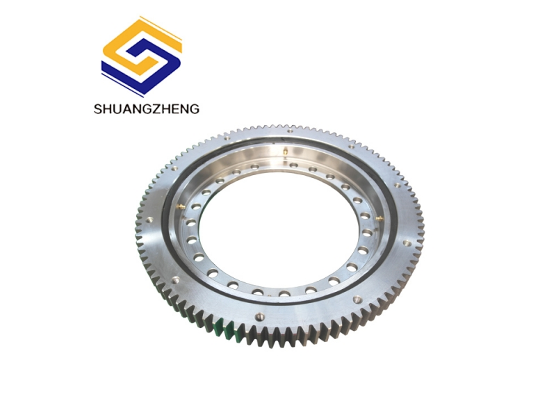 Light Series hot sale  with flange bearing slewing ring for canning machinery