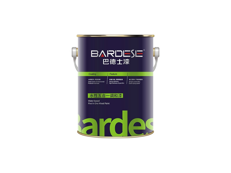 Bardese exterior wall paint