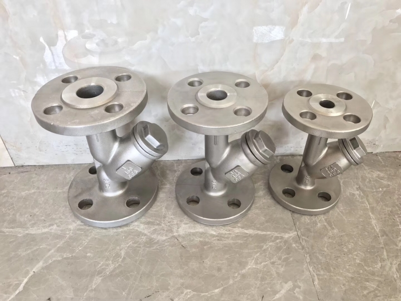 Y-type Strainer Flanged ends